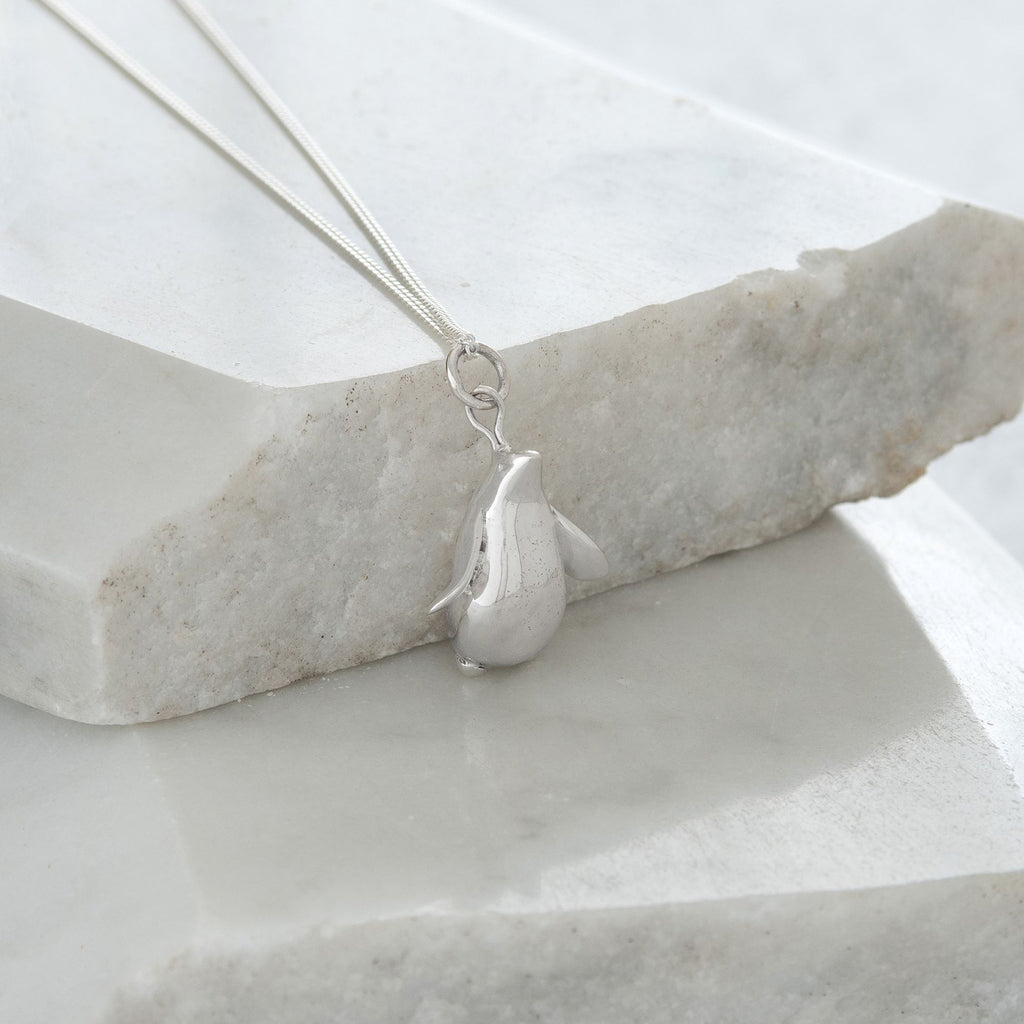 Penguin Silver necklace