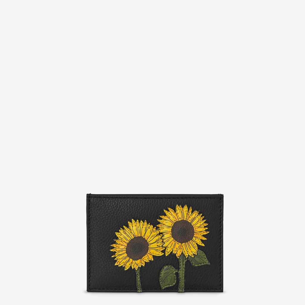 Sunflower card carrier