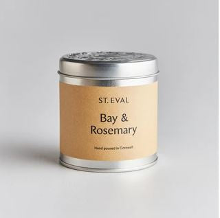St Eval Candle in a tin