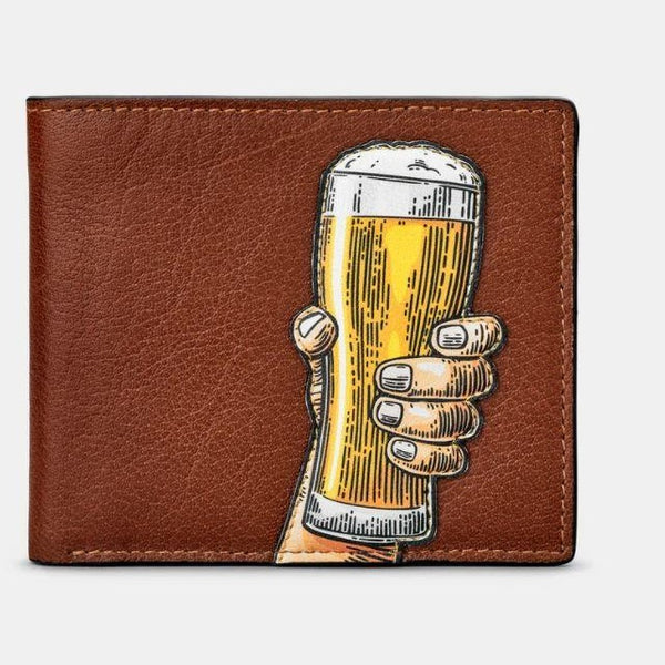 Wallet, Card holder Beer Glass