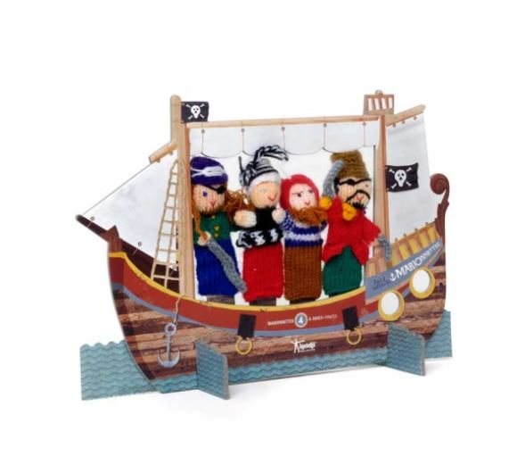 Finger Puppets - Pirates