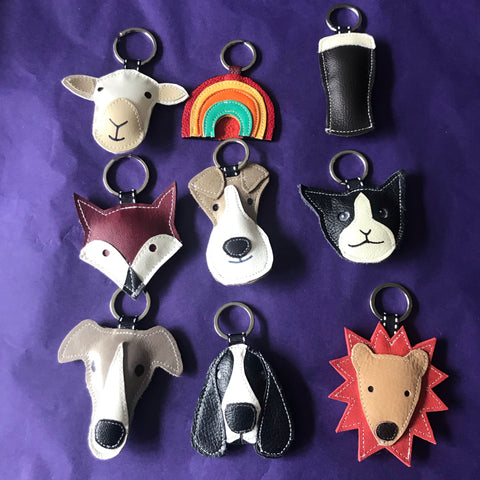 Leather key rings 3