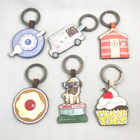 Colourful Key rings