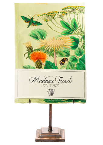 Yellow Flower Tea Towel
