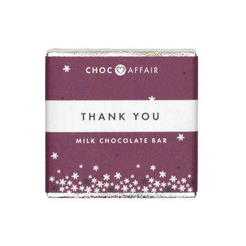 Mini Thank you Chocolate