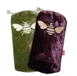 Velvet Bee Glasses Purse
