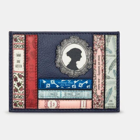 Jane Austen Books Card Holder