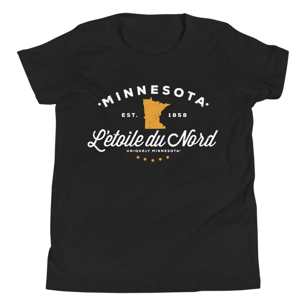 Youth L'etoile du Nord MN State Motto Shirt – Iconic Collection™