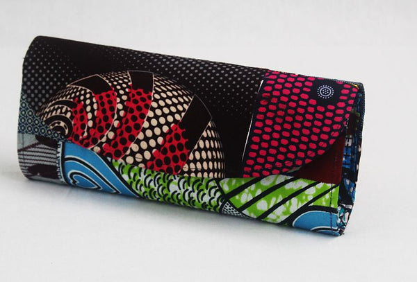 African Cloth Clutch Purse - Multi pattern