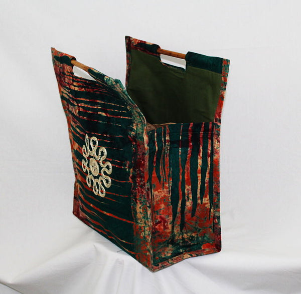 African Batik Cloth Tote - FOFO