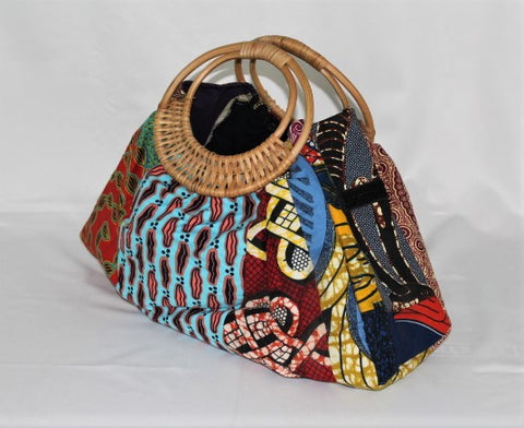 African Fabric Soft-Bag (08)