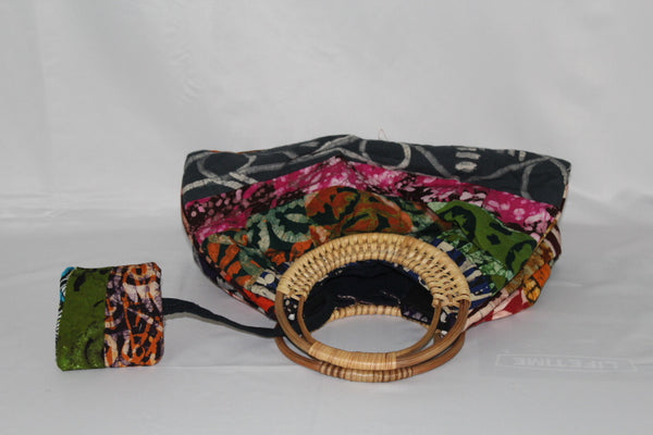 African Fabric Soft-Bag (01)
