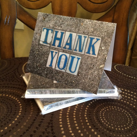 New Orleans Street Tile Thank You Note Cards
