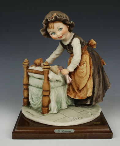"Giuseppe Armani Figurine ""Lullaby for Dolls"""