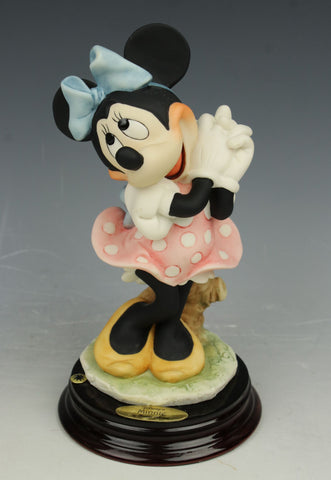 "Giuseppe Armani Disney Figurine 1270C ""Minnie Mouse"""