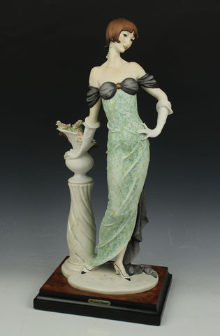 "Giuseppe Armani Figurine 193C ""Morning Rose"""