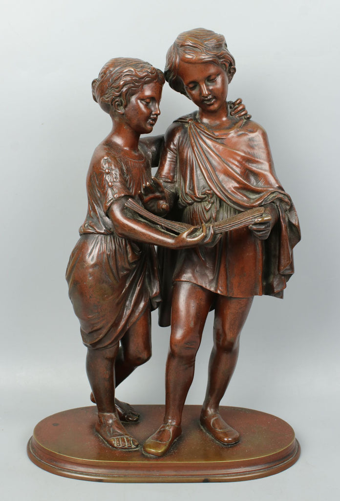 Louis Sauvageau (french,1822-1874) Bronze