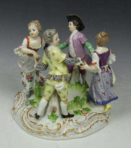 "Meissen Kaendler Figurine 2728 ""Ring Around Rosie"""