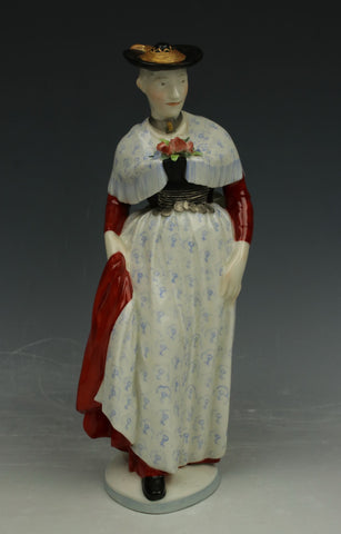 "Nymphenburg figurine 831 ""Woman from Miesbach"""