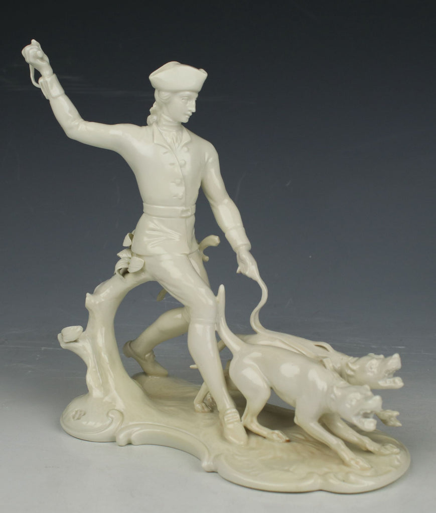 "Nymphenburg figurine ""Hunter with Dogs"""