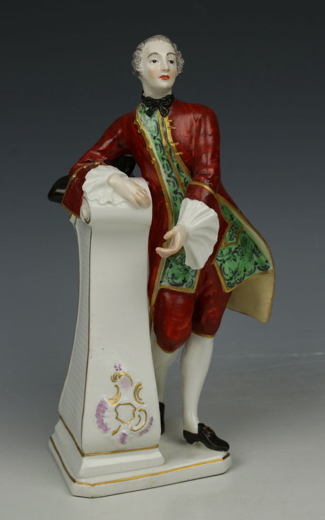 "Antique Nymphenburg figurine ""Gentleman with Hat"""