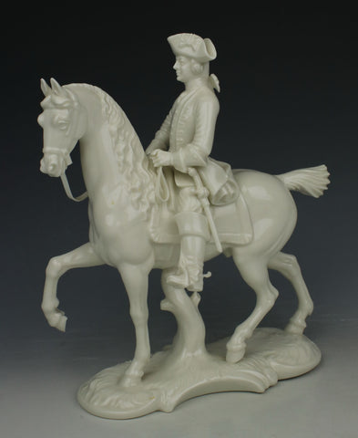 "Nymphenburg figurine 278 ""Hunter on Horse"""