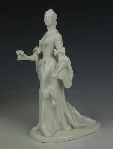 "Nymphenburg figurine ""Lady with Flower"""