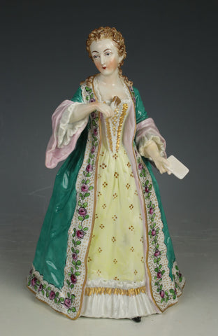 "Potschappel Carl Thieme figurine ""Csse du Barry"""