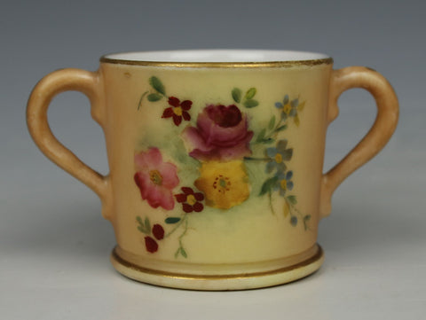 Antique 1906 Royal Worcester Miniature Cup