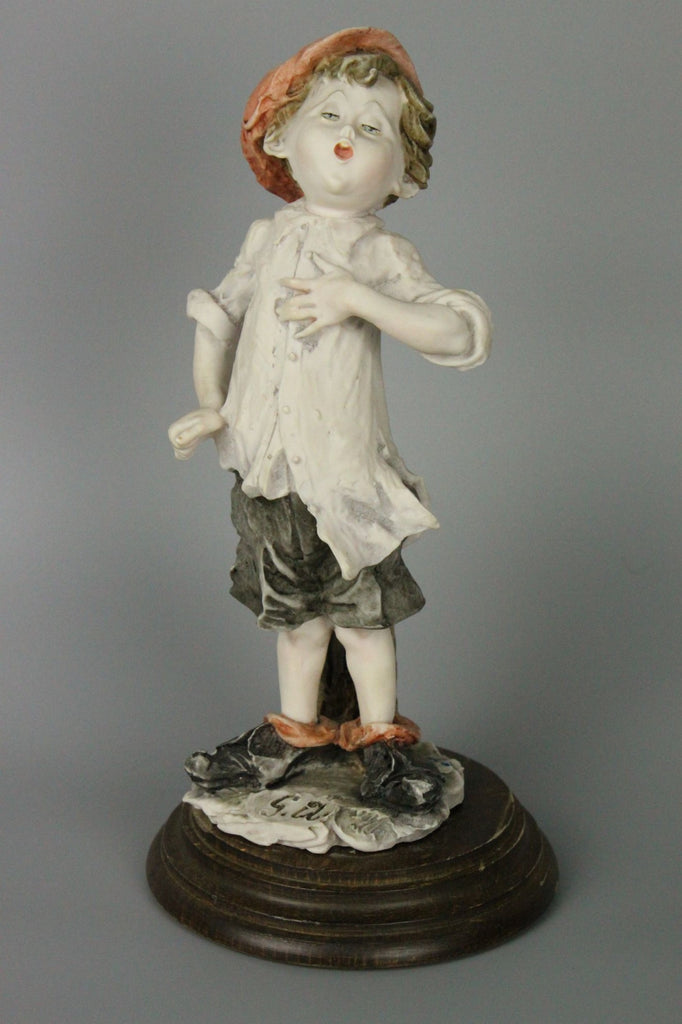 Giuseppe Armani Figurine Boy Singing - LUX-FAIR.com - 1