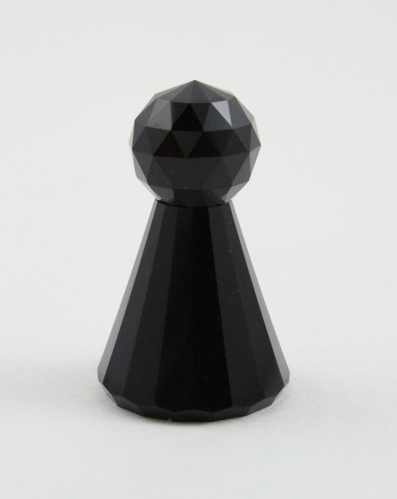Swarovski Figurine Chess Pawn Black - LUX-FAIR.com - 1