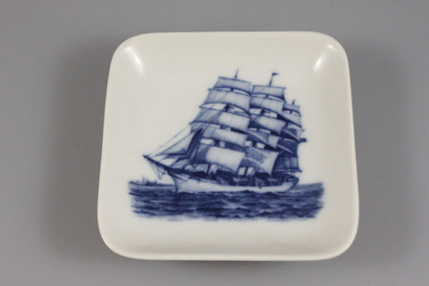 Royal Copenhagen Mini Wall Plaque Ship - LUX-FAIR.com - 1