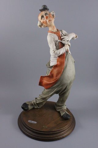 Giuseppe Armani Figurine Singing Clown - LUX-FAIR.com - 1