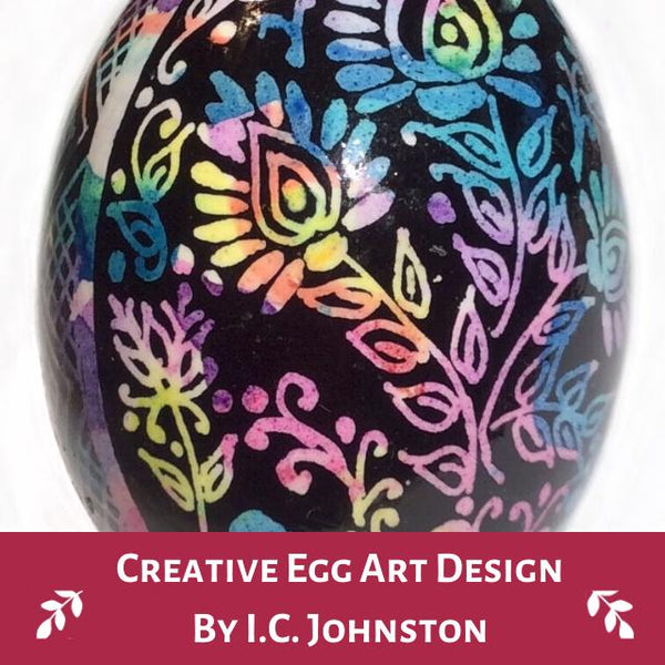 Creative Egg Art Design by I.C. Johnston