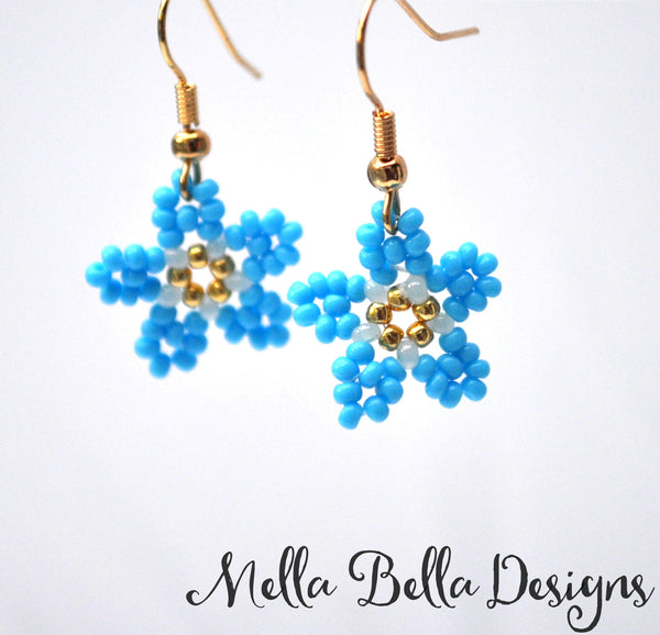 Forget-Me-Not Earrings