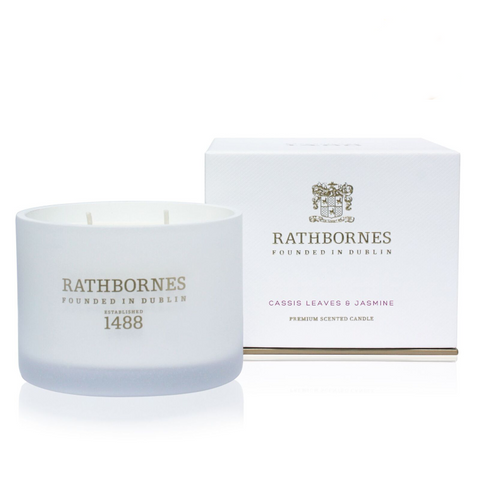Cassis Leaves & Jasmine Scented Classic Candle
