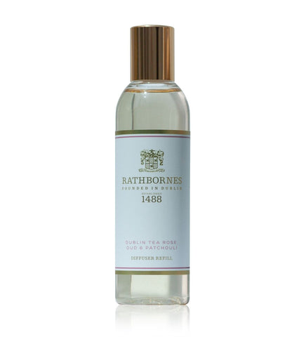 DUBLIN TEA ROSE, OUD & PATCHOULI SCENTED DIFFUSER REFILL