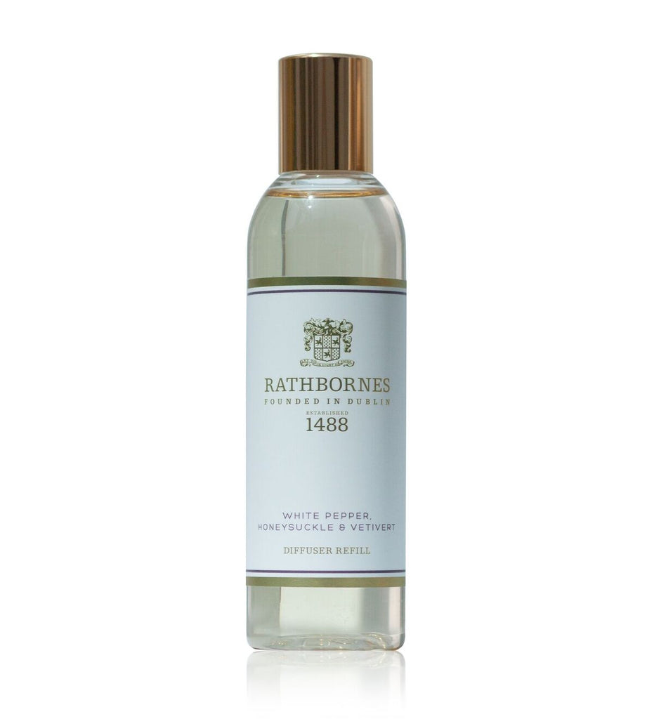 WHITE PEPPER, HONEYSUCKLE & VERTIVERT SCENTED DIFFUSER REFILL
