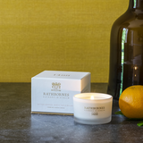 Bitter Orange, Birch Tar & Balsam Scented Travel Candle