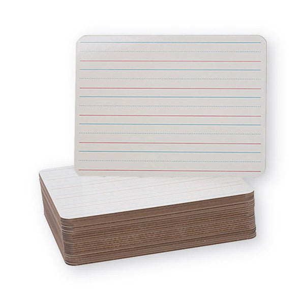 DOUBLE SIDED DRY ERASE BOARDS 24PK 9X12