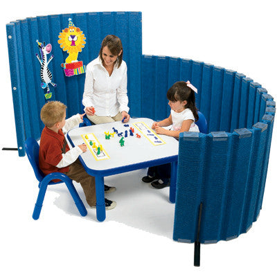 Sound Sponge Quiet Dividers Blueberry