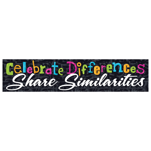 CELEBRATE DIFFERENCES BANNER