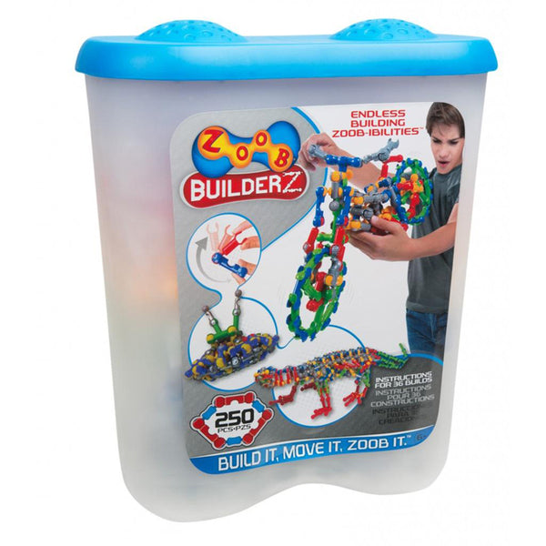ZOOB CONSTRUCTION SET 250 PIECES