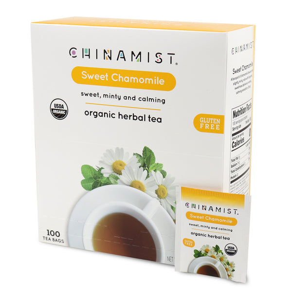 Sweet Chamomile Organic Herbal Tea (100-ct.)