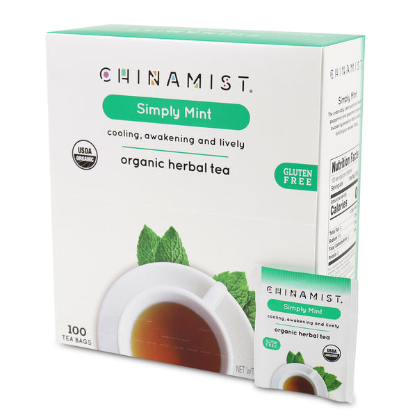 Simply Mint Organic Herbal Tea (100-ct.)