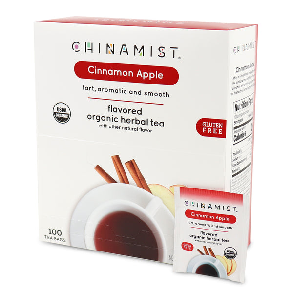 *New* Cinnamon Apple Flavored Organic Herbal Tea (100-ct.)