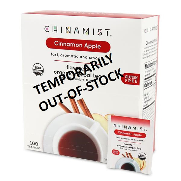 Out of Stock- Cinnamon Apple Flavored Organic Herbal Tea (100-ct.)