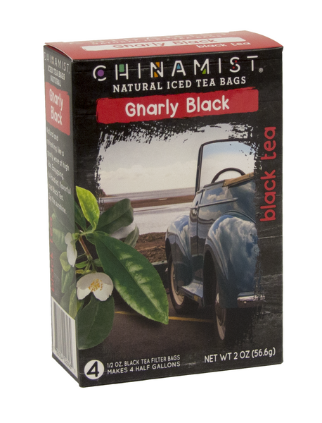 *NEW* Gnarly Black Natural Iced Tea Filter Bags
