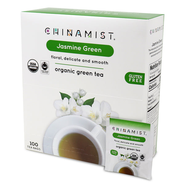 Jasmine Green Organic Green Tea (100-ct.)