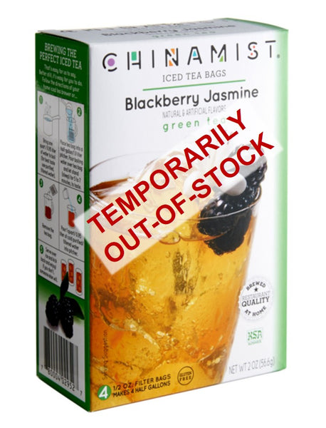 Out-of-Stock: Blackberry Jasmine Iced Green Tea Filter Bags